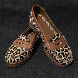Leopard print SPERRY